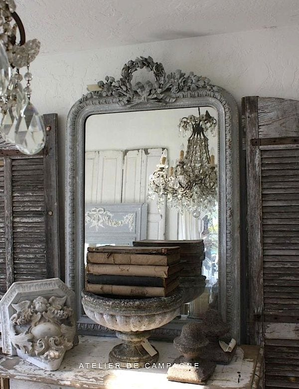 Shabby chic brocante inrichting