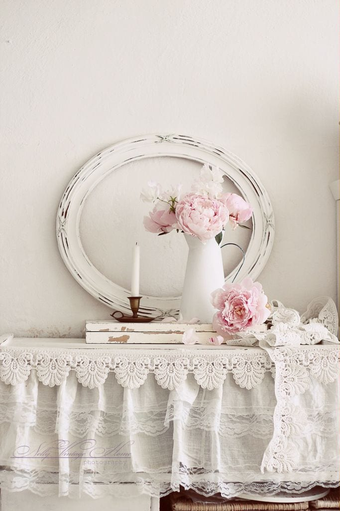 Shabby chic brocante interieur