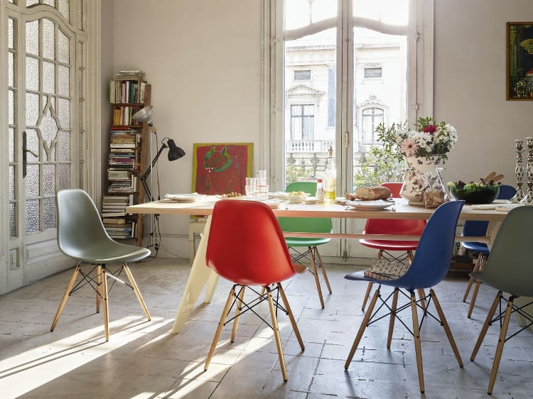 Vitra Eames Plastic Chair Side Chair diverse kleuren