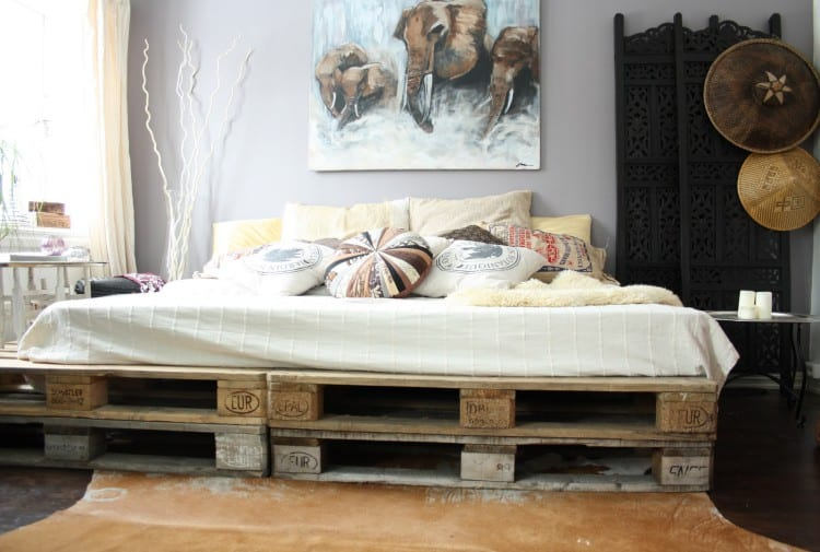 Palletbed